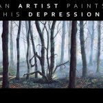An Artist Paints his own Depression