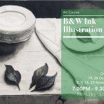 B&W Ink Illustration