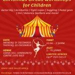 Children's Christmas Circus Workshop