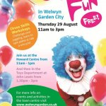 FREE Circus Skills Workshop in Welwyn Garden City