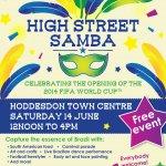 'High Street Samba' art workshop