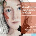 Mixed Media Imaginative Portrait
