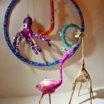 Paper Craft Mobiles for Teeny Tots! Adult Workshop