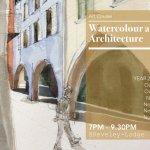 Watercolour and Architecture