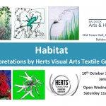 """Habitat"" Textile Art at Baldock Arts & Heritage Centre"