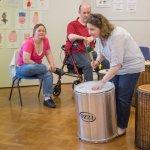 Samba workshop with Harpenden Gateway Club