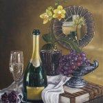 Still Life Oil Paintings by Sabbi Gavrailov