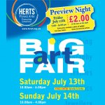 Big Art Fair Preview Night: awards + Open Studios Launch