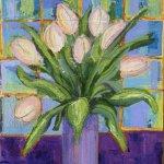 Eleanor Sidaway / silk painter and mixed media artist