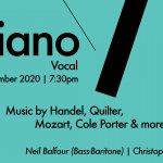 &Piano 2020 Vocal Livestream