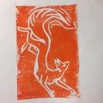 Lino Printing Workshop at Frill & Flounce