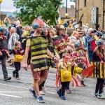 Textile Banner Parade at Holmfirth Arts Festival 2019