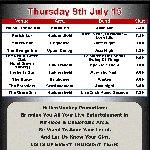 Weekly gig lists for Kirklees & Calderdale