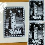 Castle Hill mounted print