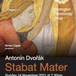 Dartington Community Choir / Antonin Dvorak Stabat Mater