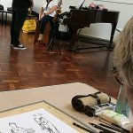 Drawing Musicians: Saturday Workshop 1st February 2020