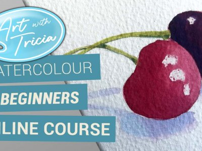 Watercolour beginners online video course