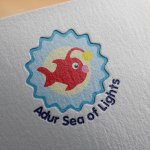 Adur Sea of Lights Logo Design