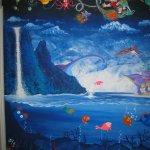Albie's Mural - 10 feet x 8 feet
