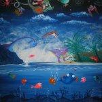 Albie's Mural 2 - 10 feet x 8 feet