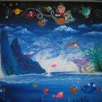 Albie's Mural 4 - 10 feet x 8 feet