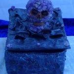 Amethyst Skull Trove