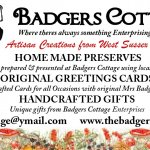 Badgers Cottage Business Card