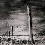 Dry point - Fenceline