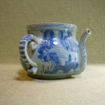 English delft posset pot