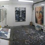 Jayne Sandys-Renton's studio