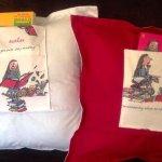 Matilda Book Cushions
