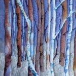 Midnight Winter Woods