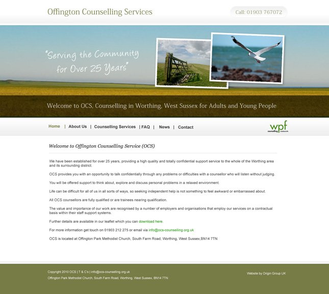 Offington Counseling Services GUI