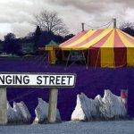Singing Streets Postcard