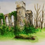 Small Castle Watercolour