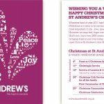 St Andrew's Church Christmas Publicity
