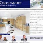 Website design: Winchmore Kitchens