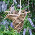 Willow birdfeeder