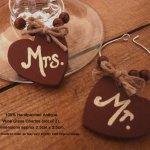 Handmade Valentines Wine Glass Charms