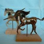 sculptural ceramics / Artist and print maker