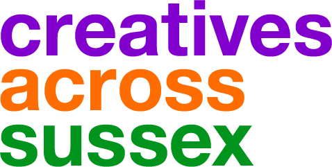 Creatives Across Sussex supports large-scale arts projects with communities and provides an online network for the local Arts & Creative community.